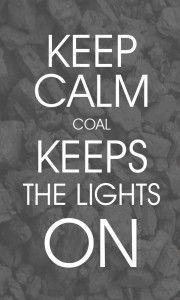 Coal keeps the lights on