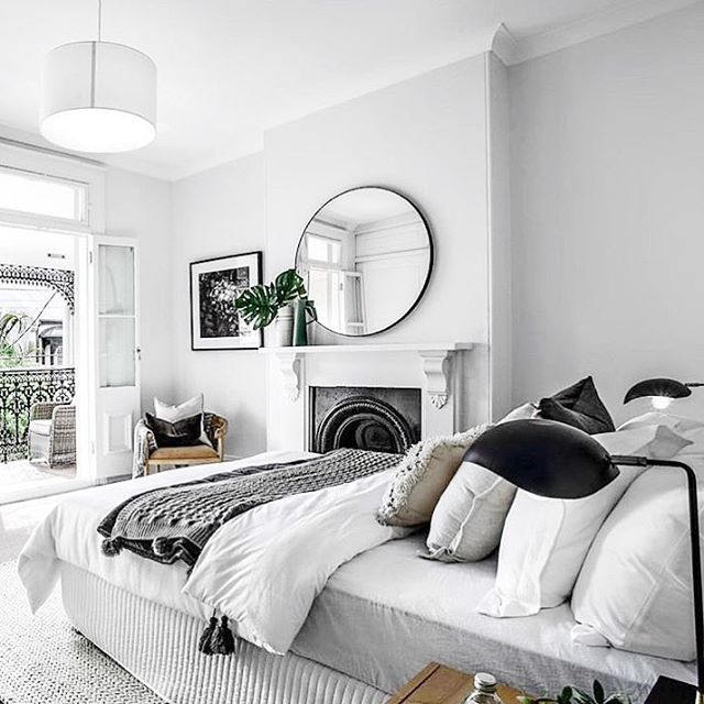 Bedroom of my dreams  featuring the amazing Hub mirror of course! We still have a couple left! via @bellepropertyau