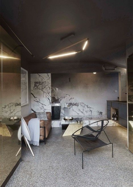 Architecture studio Edwards Moore has converted a small Melbourne apartment…