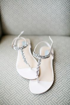 Beaded Bridal Sandals   photography by http://www.hsrphoto.com