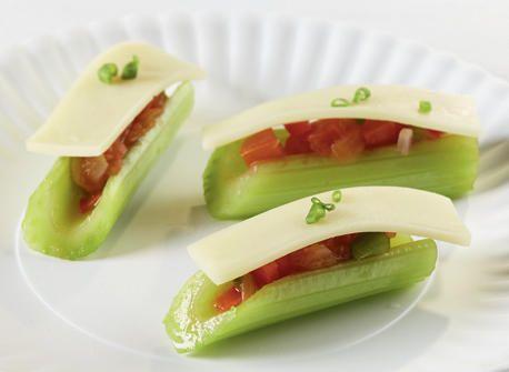 celery,salsa mozzarelle