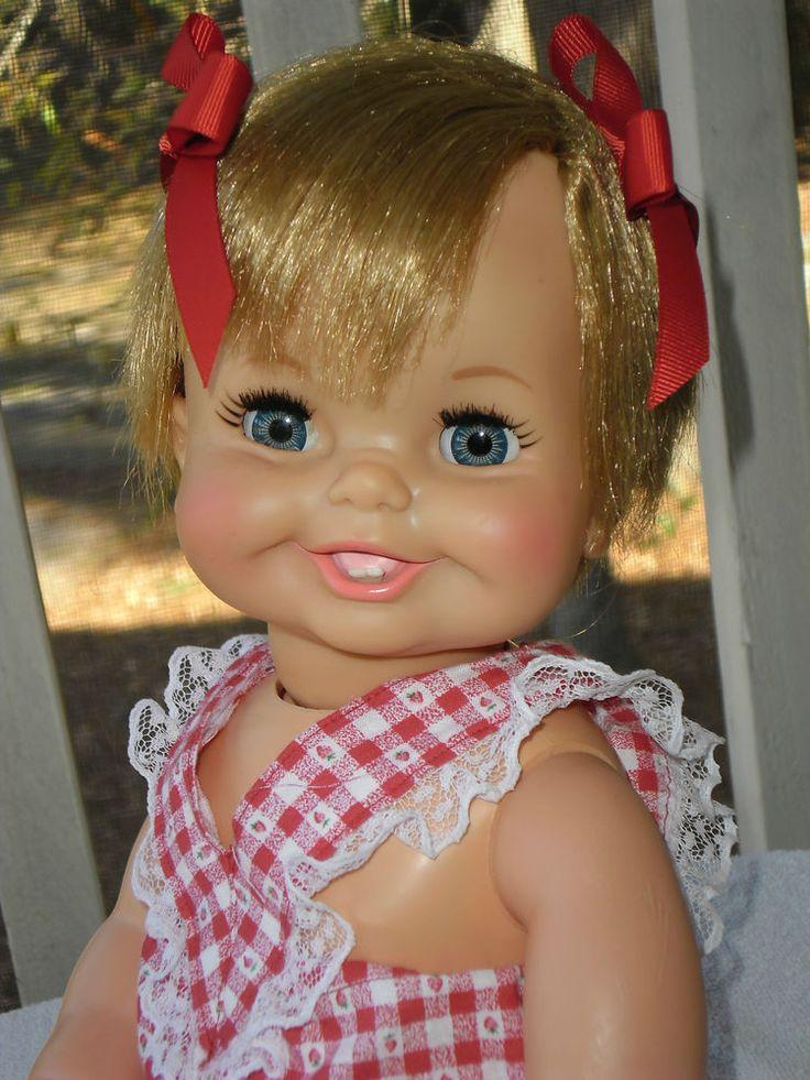 Ideal 1967 Original So Sweet Tubsy Doll Molded Teeth