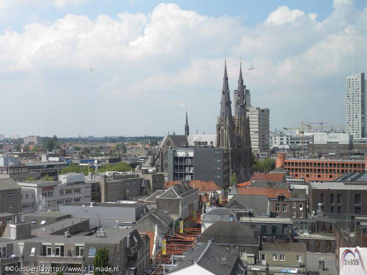 richting Catharinakerk