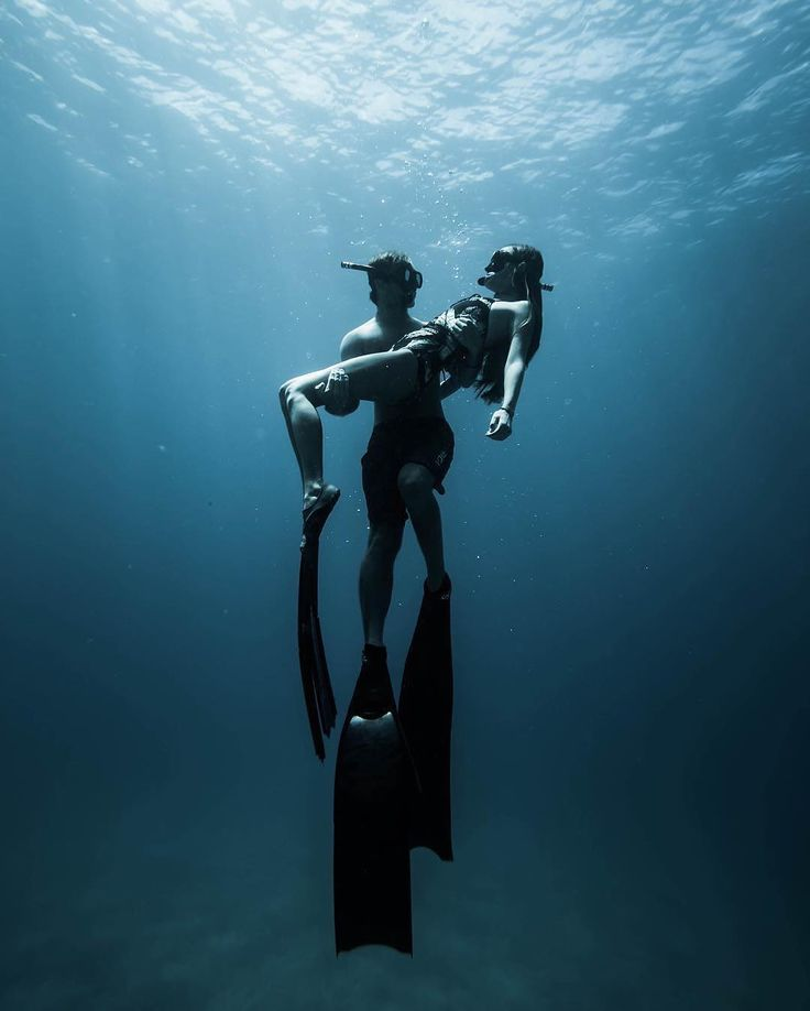 "Photo Of The Week: ""Swept"" by @morganhalas #freediving #freediver #apnea…"