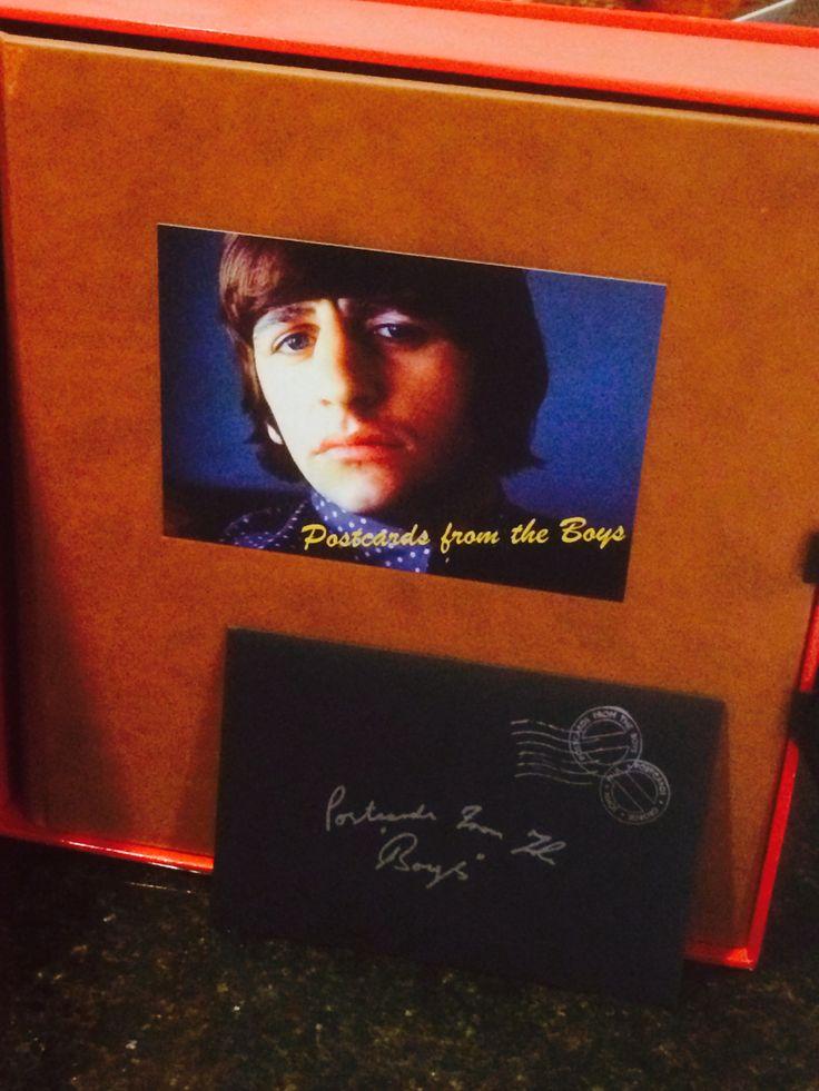 Happy birthday Ringo Starr Autograph - https://johnrieber.com/2015/06/16/ringo-starr-great-rock-biography-postcards-from-the-beatles/