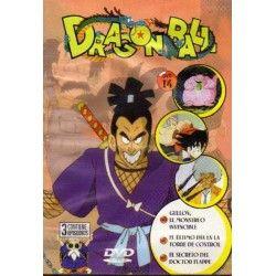 DRAGON BALL (Dvd de Ocasión), Dirigida por Minori Okazaki, Interpretes: dibujos animados.. DISCO 14 Capitulos: 40 Gullon, el monstruo invencible. 41 el último día en la torre de control. 42 el secreto del doctor Flappe...