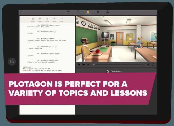 Plotagon Education - Animate your classroom - Plotagon
