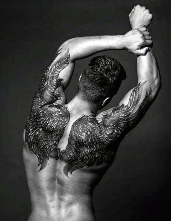 Upper Back Tattoos For Men