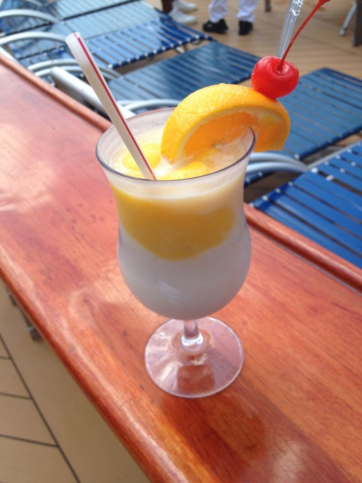 Mango Tango Recipe - Royal Caribbean International - CRUISIN