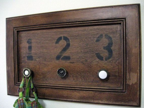 So simple . . . Use old drawer fronts.