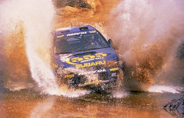 Colin McRae Being Totally Awesome – The Subaru 555