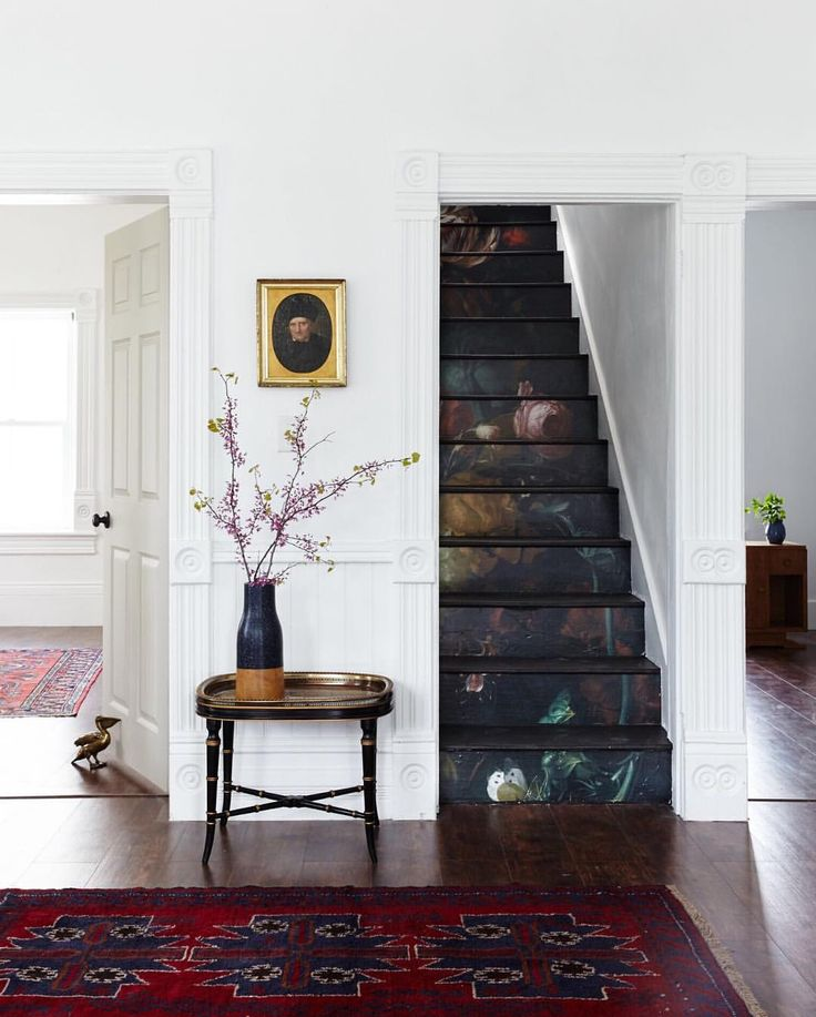 Beautiful Stairs // photo by Old Home Love