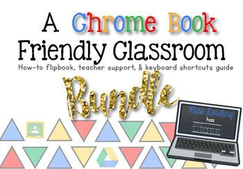 Want to make your classroom more tech friendly?Interested in how to teach your students about Google Drive, Google Classrooms, and Chromebooks?This packet includes a teacher's guide for setting up your Google Drive & Google Classrrom, a flip-book that students can use to make a document, presentation, and drawings, as well as signs for computer short cuts in color and black & white.
