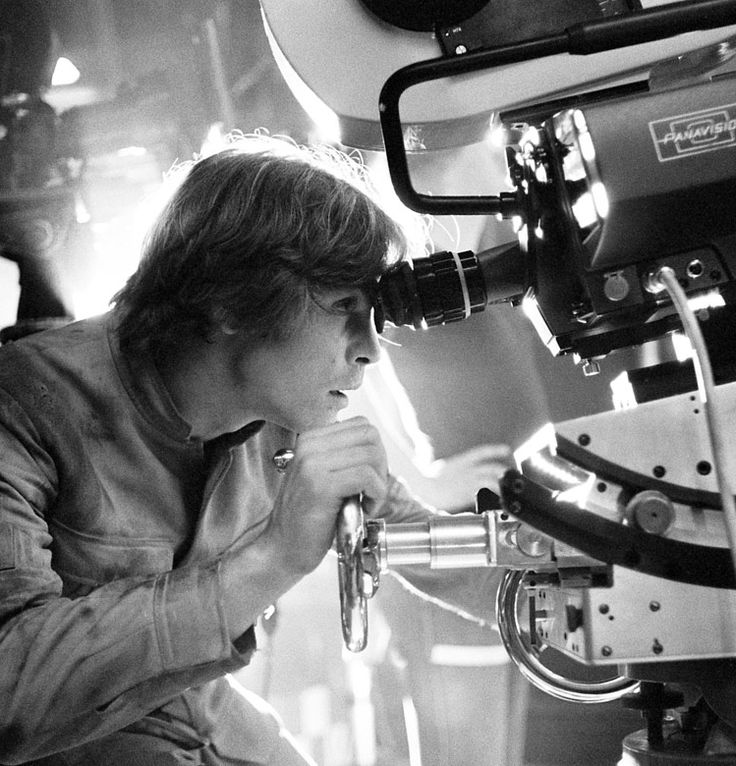 Mark Hamill behind the lens on The Empire Strikes Back