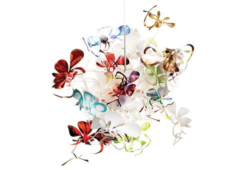 Marc Pascal Orchid Lamp (Pendant) The most beautiful chandelier I have ever seen... I will have one in my house if it kills me!!