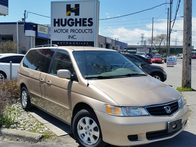 2002 Honda Odyssey EX Mini Van | AWD | ABS brakes | All power options | Leather Seats. Hughes Motor Products 416-252-1100