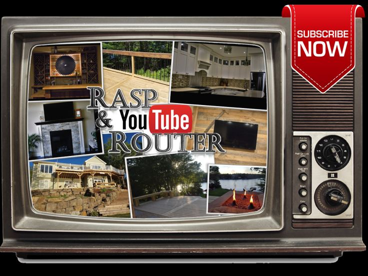 """Rasp & Router now on YouTube!!!  Subscribe to Our Channel Click Here...https://www.youtube.com/channel/UCjJKn6o_3C2fan7s2-7Rgug  Rasp and Router """"Custom Home Renovations"""" Click Here...https://youtu.be/_qg56Kv7gfc  Rasp and Router """"Custom Decks"""" Click Here...https://youtu.be/kQjcUfkdHcQ"""