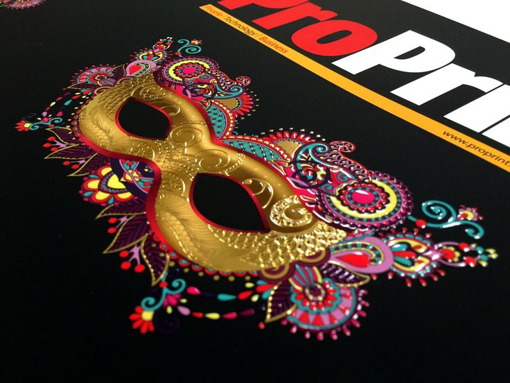Magazine cover for Australian Print magazine. Embellished with Super Gloss UV and gold foil by a MGI JetVarnish 3D Evolution.  #Print #WeHeartPrint #WhirlwindPrint #MGI #Foil #Varnish