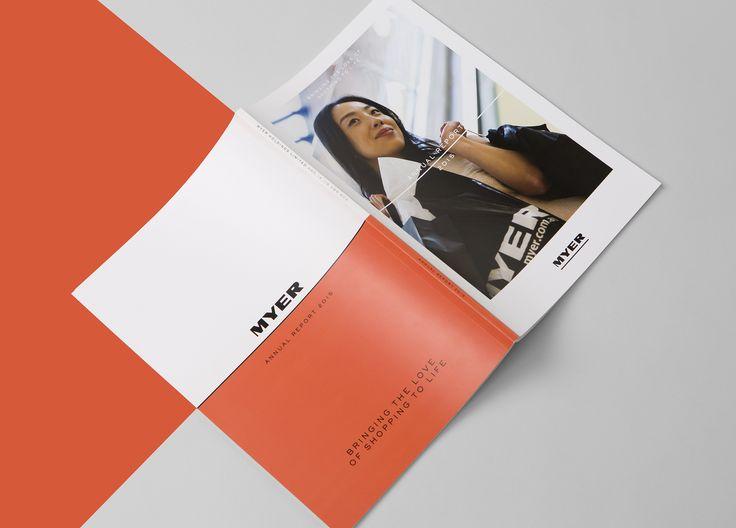 Myer annual report  www.twelvecreative.com.au