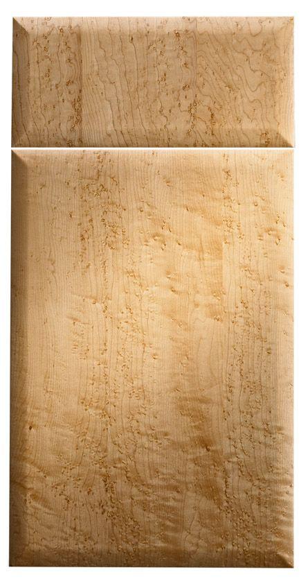 Birdseye Maple Laminate Kitchen Cabinets