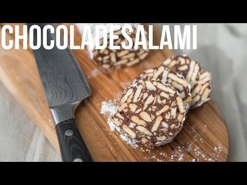 Video: Chocoladesalami - OhMyFoodness