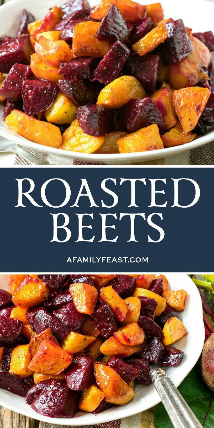 Made With Red Or Golden Beets Or A Mix Of Both Colors Like We Do This Easy Roasted Beets Side Dish Is Simple To Prepare A Recipes Beet Recipes Roasted Beets