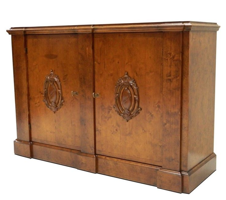Italian Wall Cabinet Craftsman Brown Finish Traditional Style Free Shipping New #Traditional