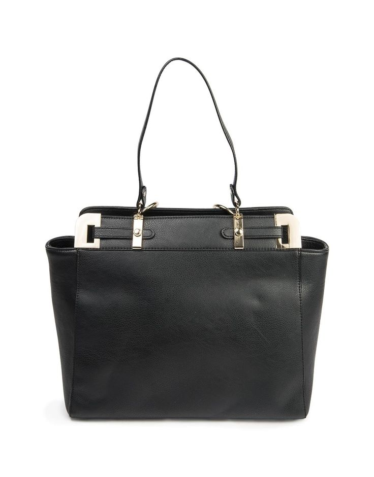Handle Trim Tote Bag - classy and stylish to replace Mum's previous, well worn Woolies handbag!