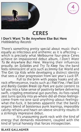 Ceres in Xpress Mag!