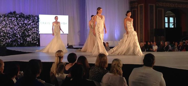 The #UltimateBridalEvent fashion show is underway! With the best designers in Australia, our catwalk is like no other! Be sure to come down today and tomorrow to the Royal Exhibition Building!!