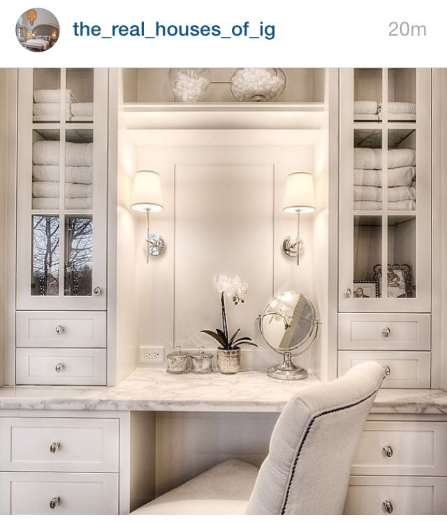 Top 25 Best Built In Vanity Ideas On Pinterest Dressing Table Stool Ideas Master Bath Vanity