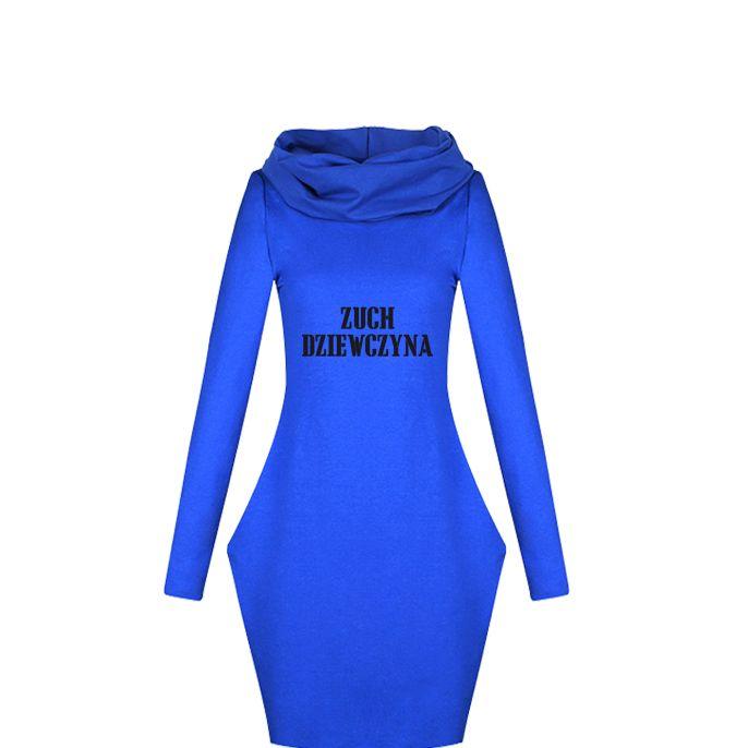 Czy są tu jakieś przebojowe dziewczyny? http://www.trendton.pl/sukienka-komin-niebieska-p-5802.html?nadruk=Sukienka+dresowa+z+kominem+zuch