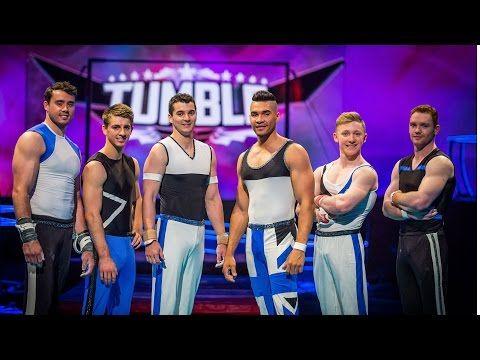 Louis Smith & Team GB Performance to 'Runaway Baby' - Tumble: Episode 1 - BBC One