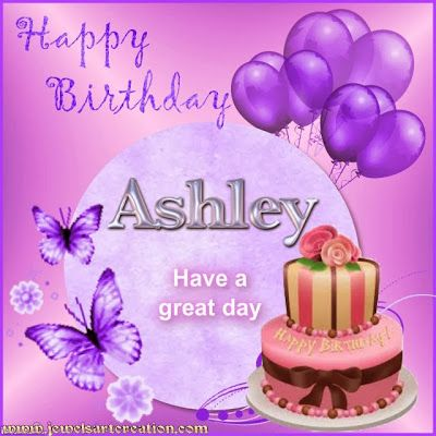 Birthday ~ASHLEY