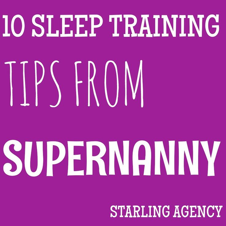 10 sleep training tips from Supernanny Jo Frost #sleeptraining #nannylife #nanny #supernanny #sleeptips