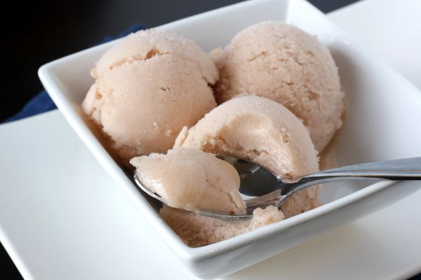 Rhubarb Sorbet-The sorbet is very creamy and full of flavor. The ...