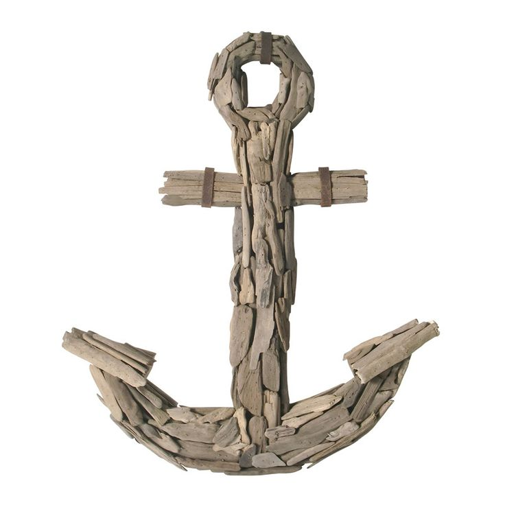 Sterling Industries Driftwood Anchor