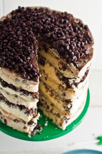 Hummingbird High: Momofuku Milk Bar Chocolate Chip Cake -this cake sound very good
