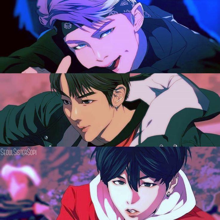 Anime Romance Terbaik 2018: Bts Not Today Anime Version