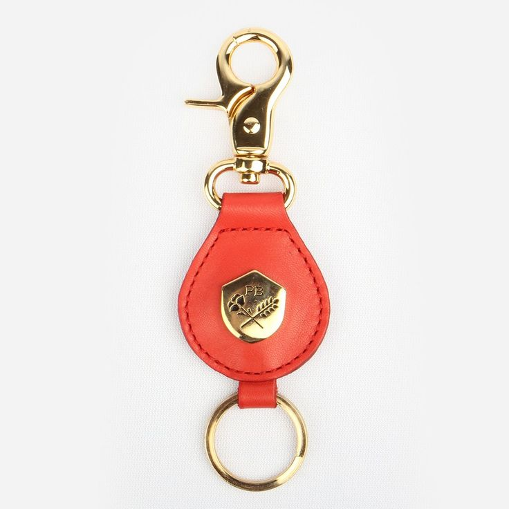 The Keychain Fire Red Nubuck
