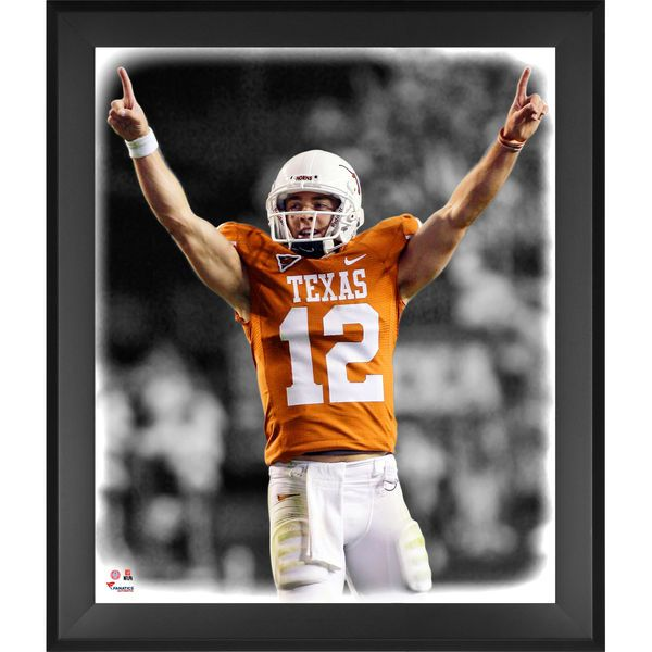 Colt McCoy Texas Longhorns Fanatics Authentic Framed 20'' x 24'' In the Zone Photograph - $99.99