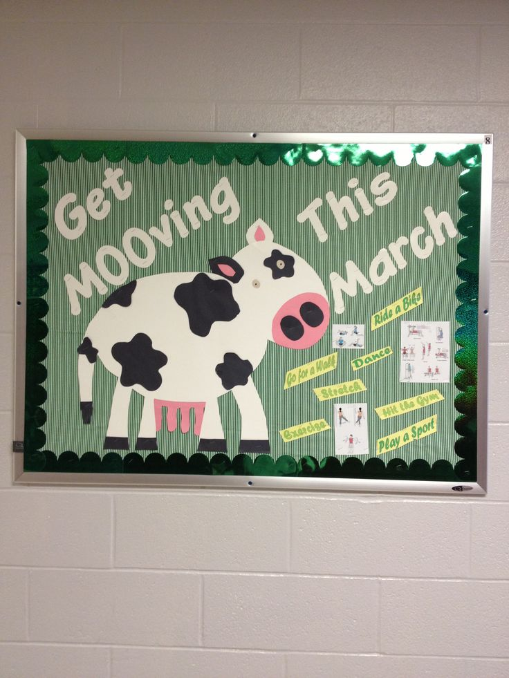 March FACS or Health bulletin board