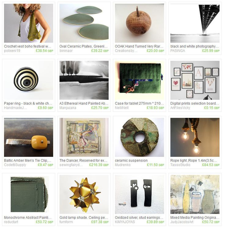 Baltic Amber and Green Etsy Treasury Collection
