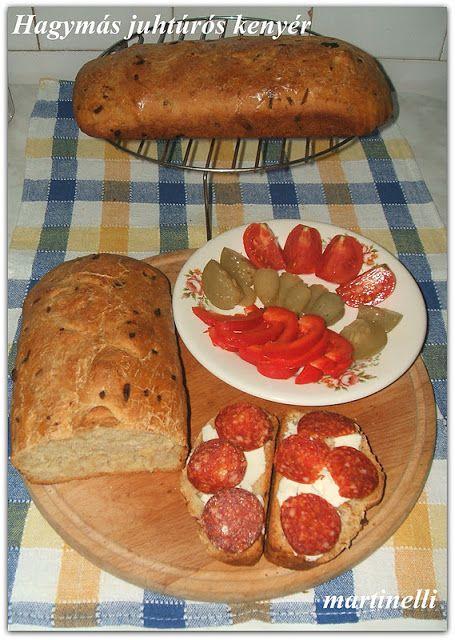Hagymás juhtúrós kenyér - A Kenyér Világnapjára