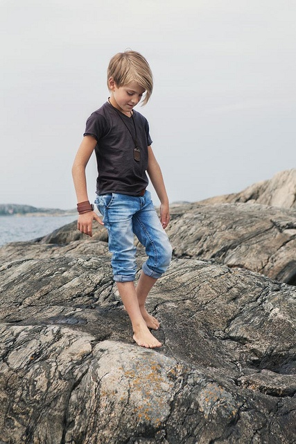 Never too young to work the Morton Harket look from www.idigdenim.se