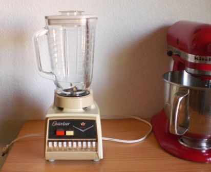 SALE Osterizer blender midcentury appliance by StitchyImpressions, $22.49