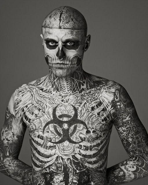 Vivo Rindo: * 10 tatuagens Bizarras (parte 2)