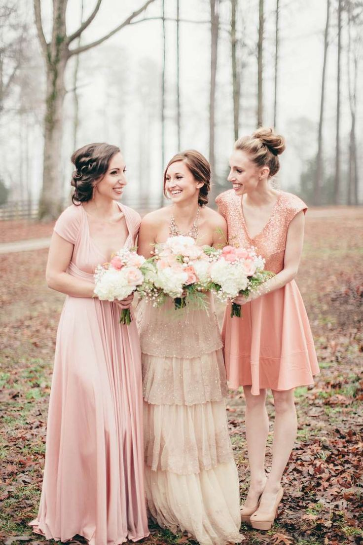 97 best bridesmaid dresses images on pinterest wedding ballerina blush and gold wedding inspiration the lovely find wedding blog ombrellifo Image collections