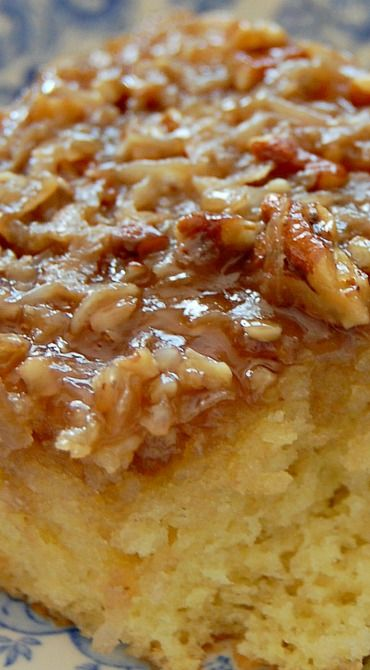 Lazy Daisy Hot Milk Cake-- pretty sure my mom might have made this a time or two before