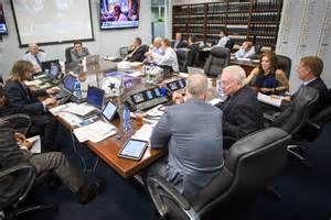 Draft War room photo credit Dallas Morning News